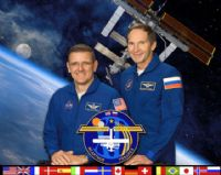 International Space Station Expedition 12 Official Crew Photograph